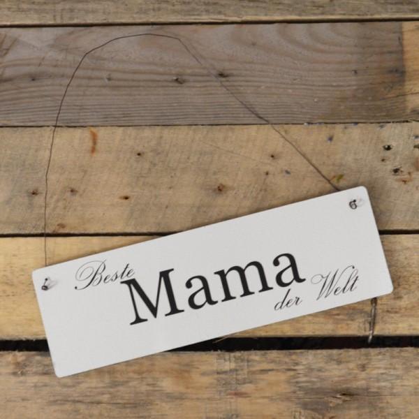 Holzschild: Beste Mama der Welt