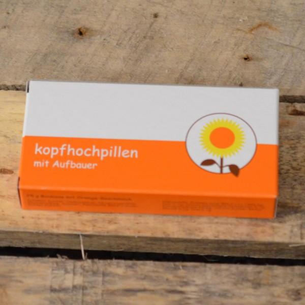 Kopfhochpillen - Orangenbonbons