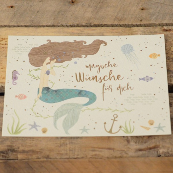 Postkarte Magische Wünsche für dich