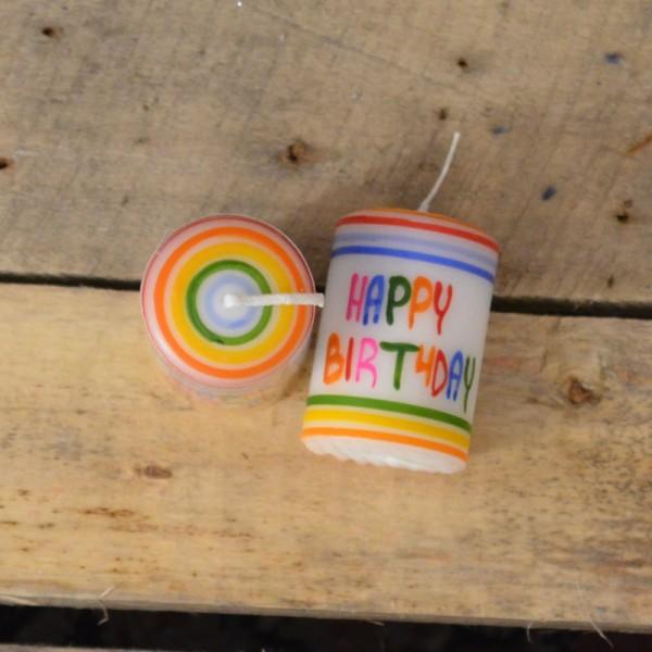 Lebenslicht Happy Birthday