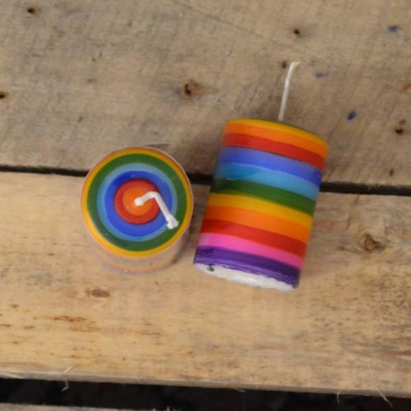 Lebenslicht Regenbogen Streifen
