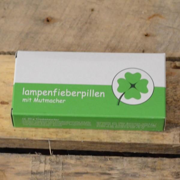 Lampenfieberpillen - Traubenzuckerdragees