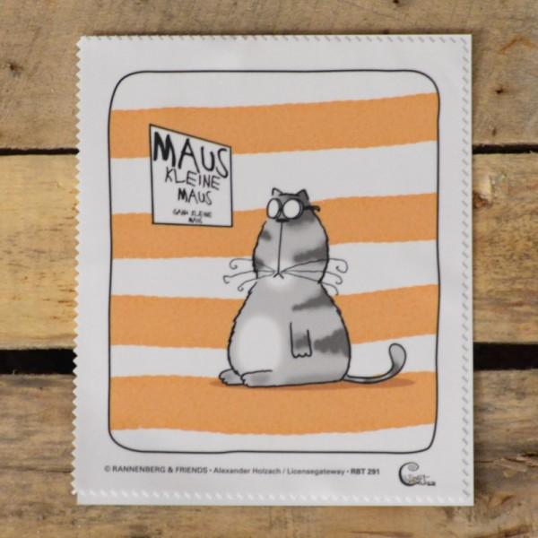 Brillenputztuch: Maus, kleine Maus
