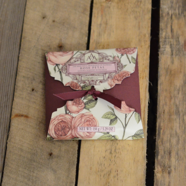 Bath Salt Rose petal - Somerset Toiletry